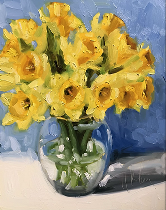 Daffodils, Blue
