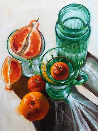 Oranges & Green