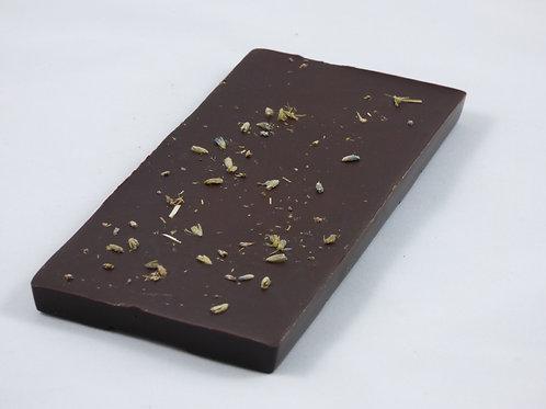 Tablette chocolat noir à la lavande