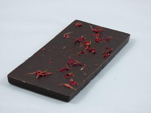 Tablette chocolat noir à la Monarde