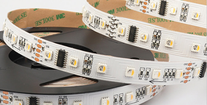 SMD5050 DMX 512 60Leds/m RGBW