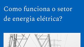 Como funciona o setor de energia elétrica?