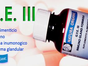 GYE 111 INMUNO GLAND FORMULA, ANTI-CANCERIGENO