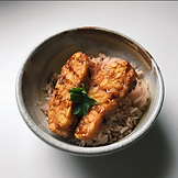 Tempeh with sweet soys auce by Driando