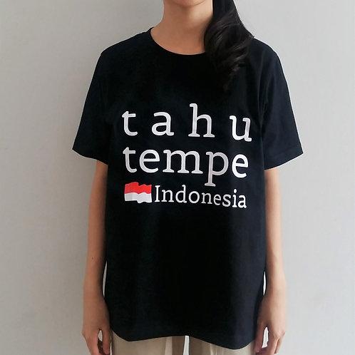 Tahu Tempe Tee in Black