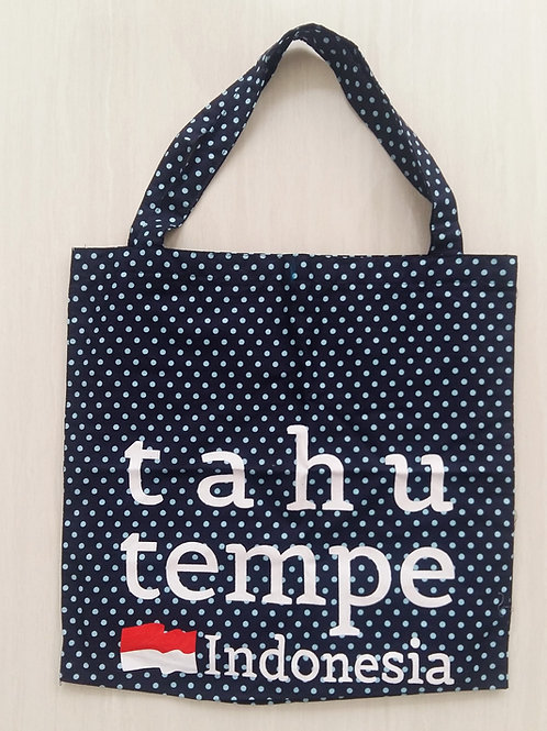 Tahu Tempe Bag in Polkadot