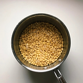 soaked soybean for tempeh by Driando