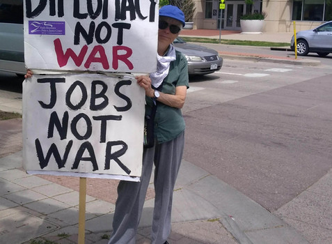 August 8th, Anti-War Demonstration