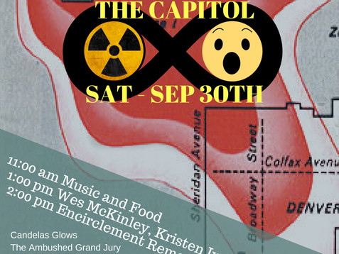 Rally at the Capitol: KEEP ROCKY FLATS CLOSED, September 30th