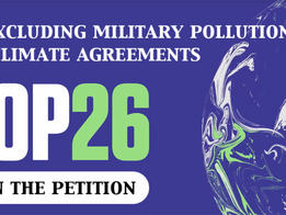 Stop Excluding Military Pollution From Climate Agreements Petition