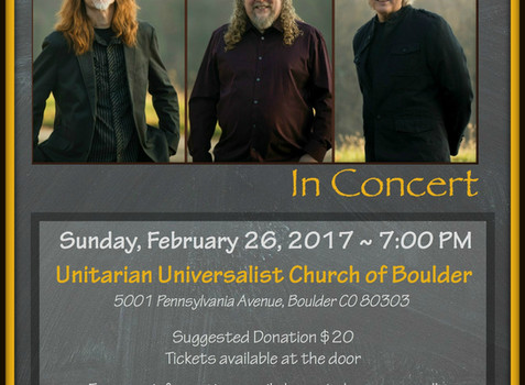 Brother Sun Concert, Sunday February 26th 7:00pm