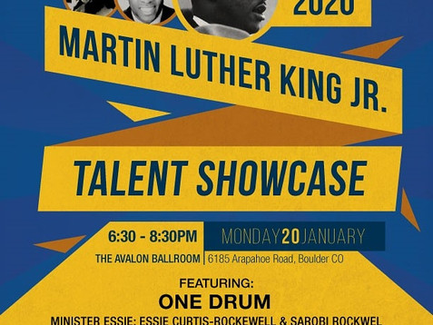 2020 Martin Luther King Jr. Talent Showcase