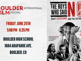 RMPJC co-hosting BIFF screening of The Boys Who Said No!  6/25