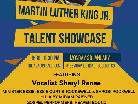 Dr. Martin Luther King Jr. Rally and March, January 20th