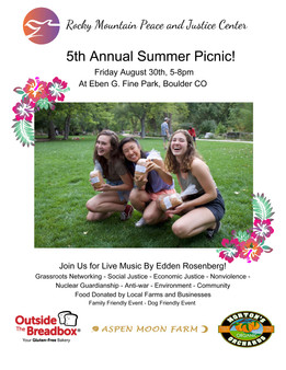 5th Annual RMPJC Summer Picnic!