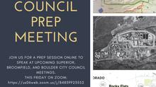 City Council Prep! 9/24!