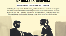 Naropa Film Screening: The Beginning of the End of Nuclear Weapons, January 22nd