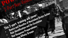Power In the Streets:  A Two-Part Deep-Dive into Non-Violent Direct Action