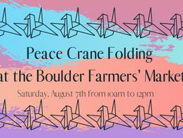 Peace Crane Folding 8/7