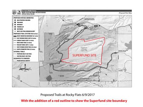 Sign-on letter to Halt Recreation at Rocky Flats