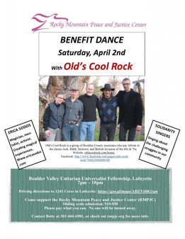 Benefit Dance! Saturday, April 2nd