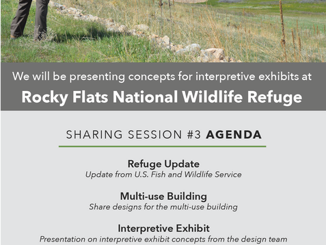 February 22nd, Please show up in solidarity to keep the Rocky Flats National Wildlife Refuge closed