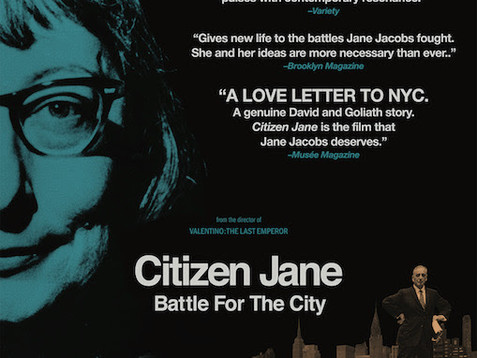 Film Screening of Citizen Jane: Battle for the City, April 23rd