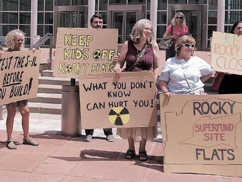 URGENT: National Campaign to Keep Rocky Flats Closed