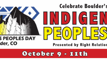 Indigenous Peoples Day 10/9-10/11!