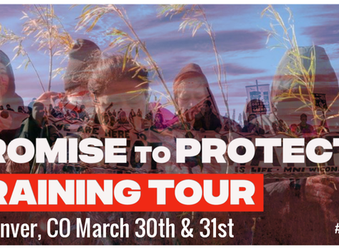 Promise to Protect Training Tour, March 30th or March 31st