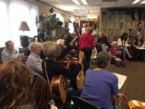Pictures from Round Robin Sing Along February 5, KGNU