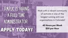 RMPJC is Hiring A Full Time Administrator!