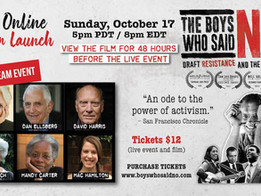 Film Launch of The Boys Who Said No! 8/15!
