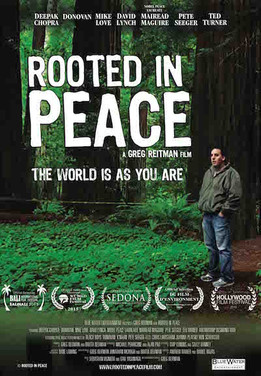 Film Screenings of Rooted in Peace September 25th at the Boedecker and September 28th at E-Town