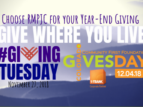 #GivingTuesday is Tomorrow, November 27th
