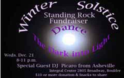 Winter Solstice Standing Rock Fundraiser