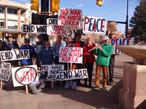 Anti-War Demonstration, December 23rd