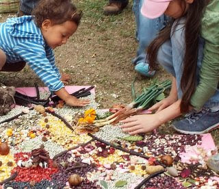 Seed Mandala at the Boulder Public Library October 22nd 10am - 2pm