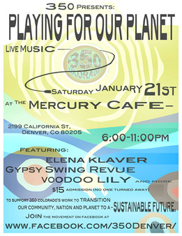 January 21st, 350 Presents Playing for our Planet, Live Music