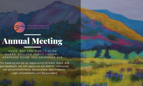 RMPJC ANNUAL MEETING, May 2nd