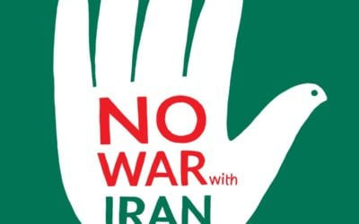 "April 9th, Panel Discussion on ""Stopping a War on Iran and Ending Deadly Sanctions"""