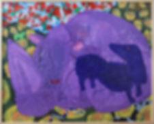 Le Rhino et le Teckel 150X110