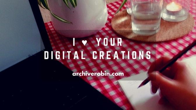 digital creativity. Archive Robin