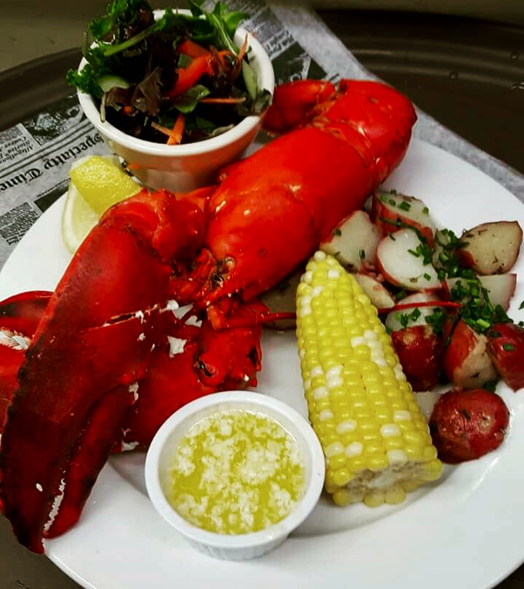 Whole Steamed Lobster