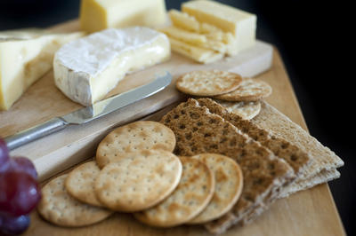Cheese and Crackers Platter