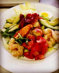 Sea Food Cobb Salad