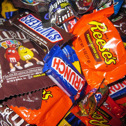 Assortment of Candies and Chocolates