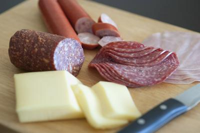 Cheese and Meat Charcuterie