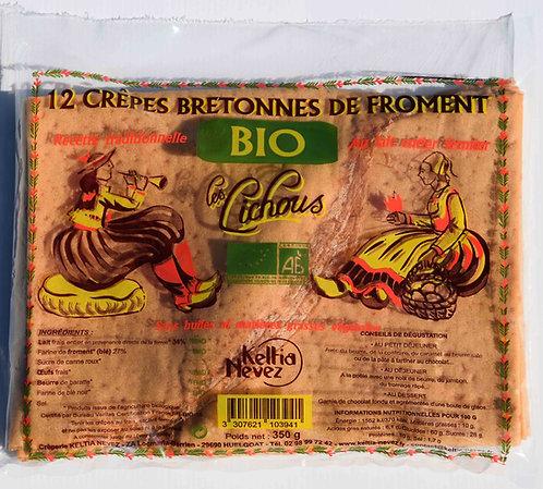 12 Crêpes Bretonnes de froment Les Lichous
