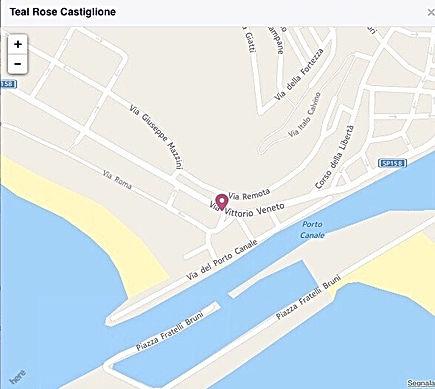 Negozio abbigliamento - Castiglione della Pescaia (GR) - Teal Rose